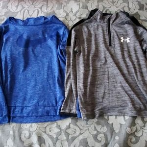 Nike and Under Armour boys active tops size 5/6